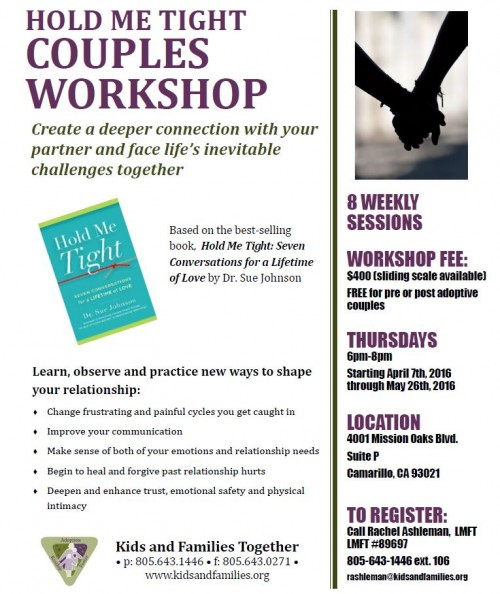 Spring 2016 HMT Couples Workshop