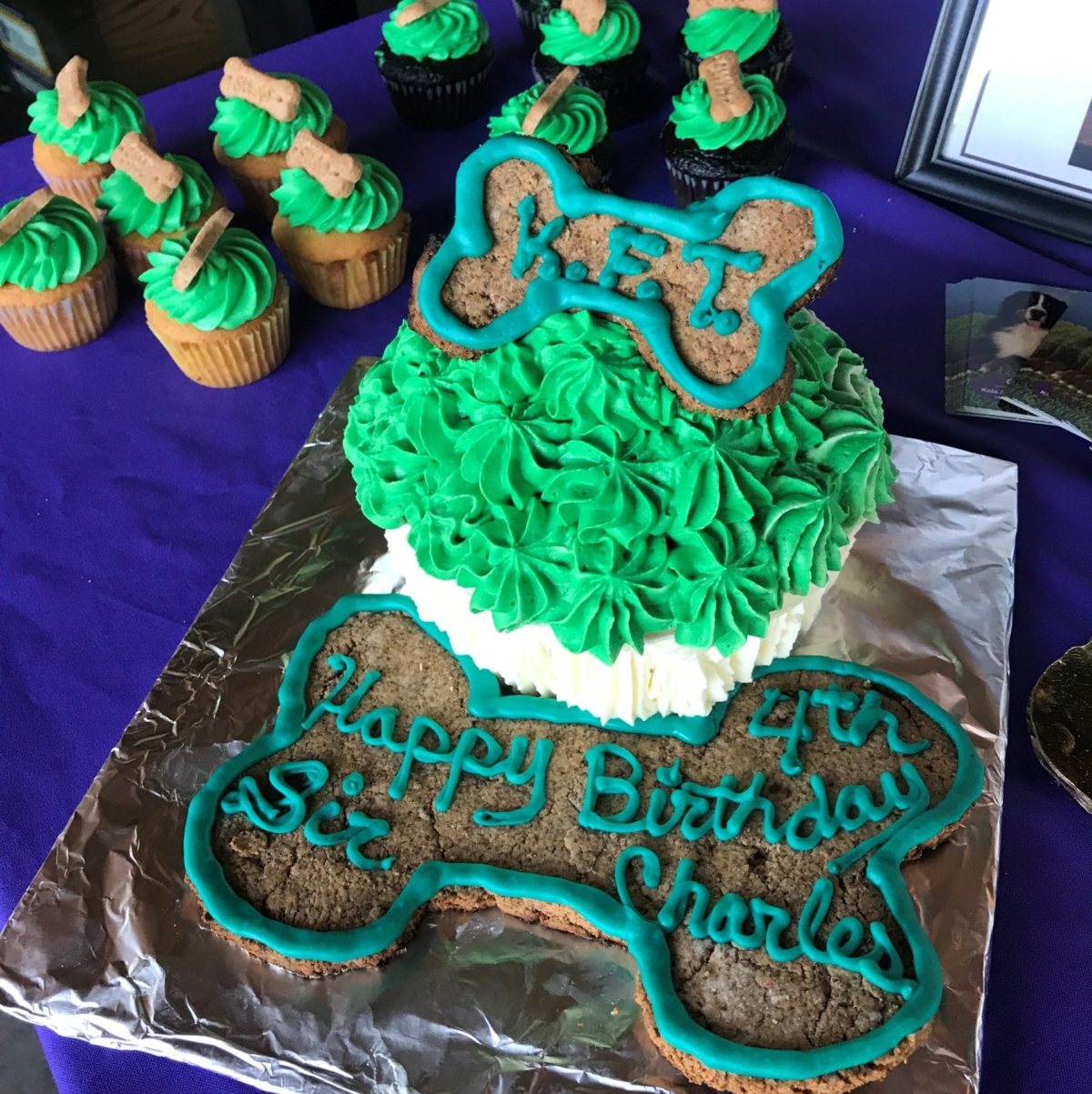 Charles' cake