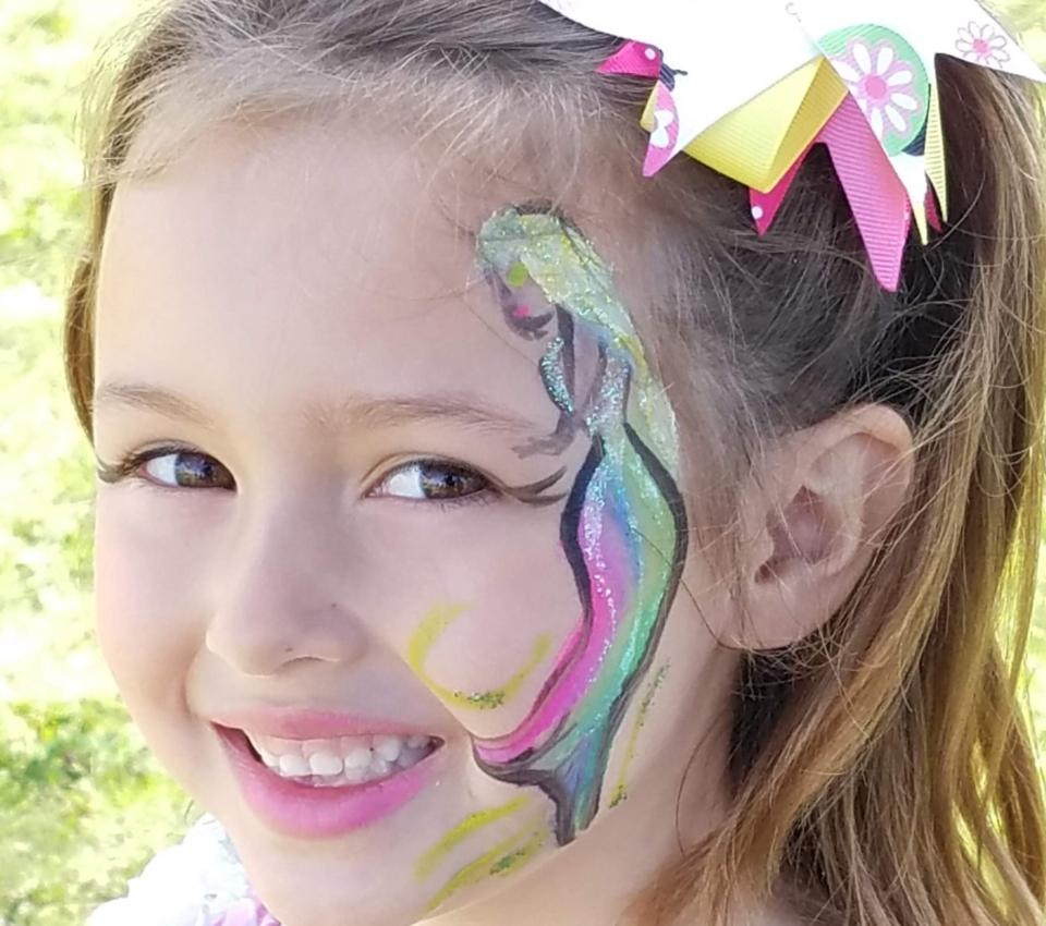 girl facepaint